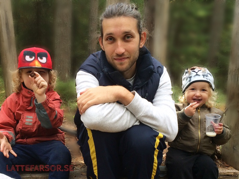 Småbarnslivet, pappablogg, skogen,