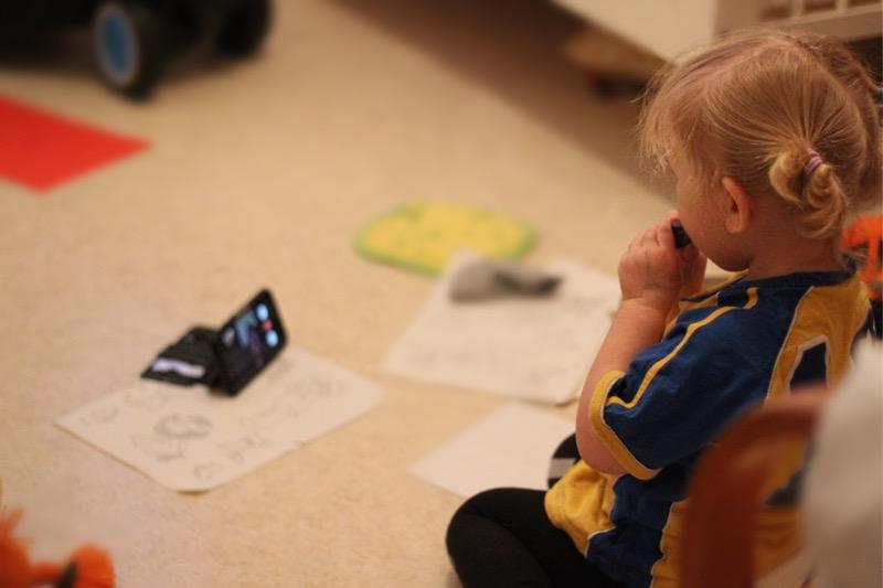 FaceTime, farmor, barnvakt, pappablogg,