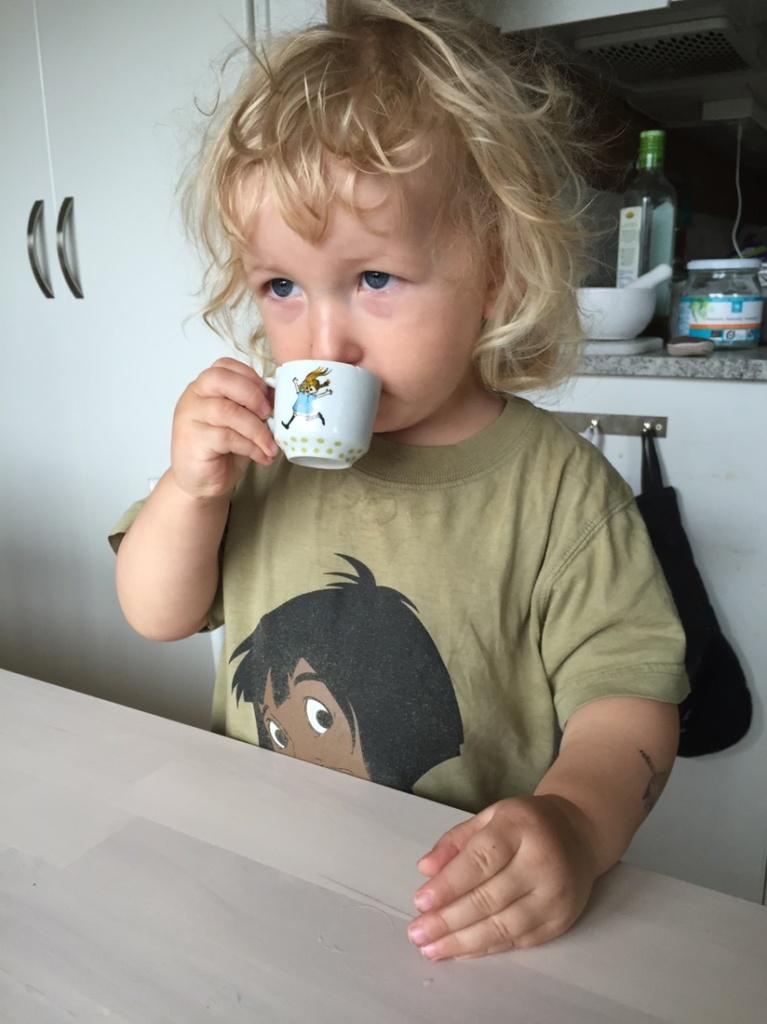 Kaffe, Pippi Långstrump, pappablogg,